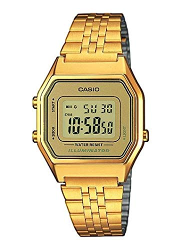 Casio Collection DamenRetro Armbanduhr LA680WEGA