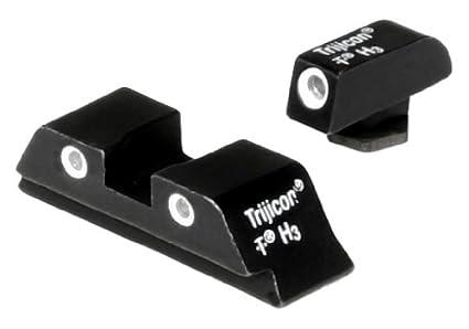 amazon com trijicon gl01 bright tough night sight set for glock