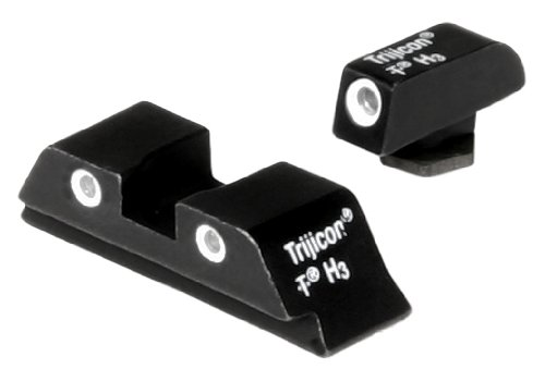 Three Lamp 26 - Trijicon GL01 Bright & Tough Night Sight Set for Glock Pistols