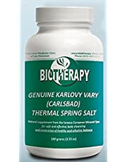 Biotherapy Genuine Karlovy Vary Healing Mineral Water Body Alkalizer - Thermal Spring Salt - Natural Mineral Supplement …