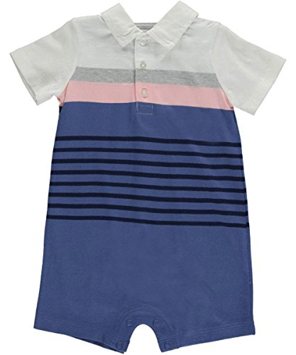 Carter's Striped Polo Romper