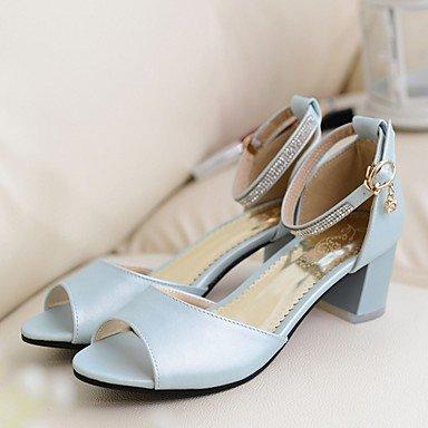 Mariage Automne Confort Chaussures Femme Polyuréthane Nouveauté ggx blue amp; Habillé Soirée Talons Eté Synthétique LvYuan Marche Similicuir Evénement à XPHA7xqqw