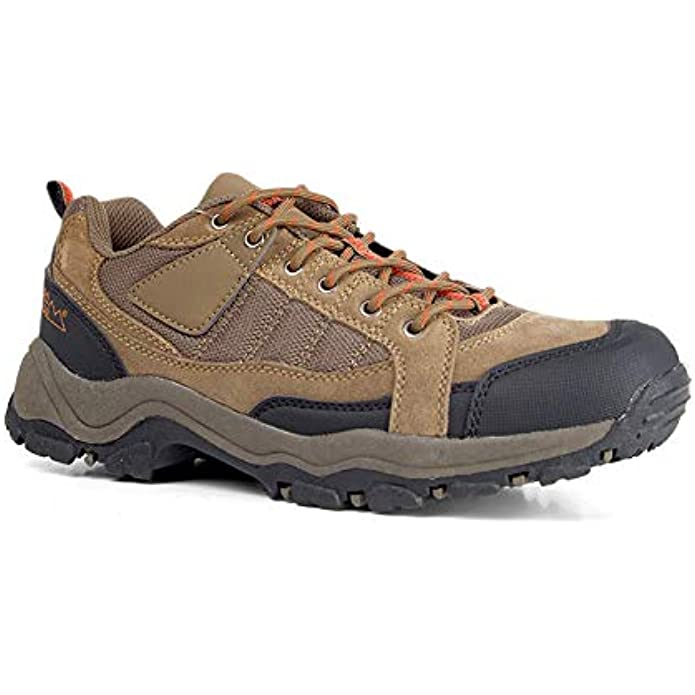 Nord Trail Mt. Hunter II Hiking Boots for Men - Suede Waterproof Boots for Outdoor Trekking