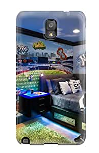 High Quality Blue Bedroom For A Baseball Fan Skin Case Cover Specially Designed For Galaxy - Note 3 5987399K63665412