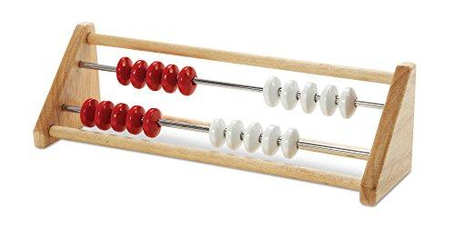 ETA hand2mind 79504 20-Bead Wood Rekenrek Counting - Row Frame