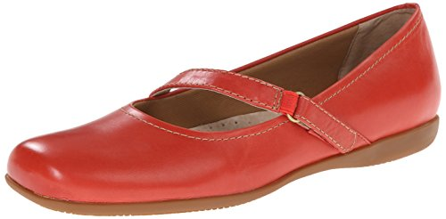 Jane Women's Flat Red Simmy Trotters Mary fCwxgqCU