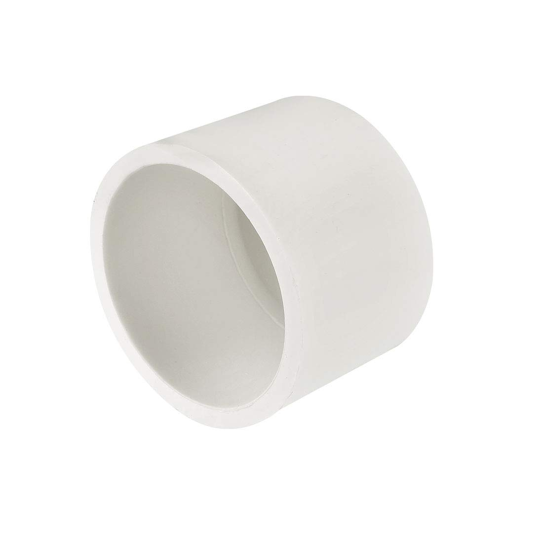 uxcell 25mm PVC Pipe Cap Fitting Slip Socket External End Caps 5 Pcs