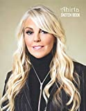 Sketch Book: Dina Lohan Sketchbook 129 pages, Sketching, Drawing and Creative Doodling Notebook to Draw and Journal 8.5 x 11 in large (21.59 x 27.94 cm)
