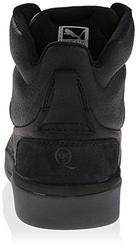 Puma Menns Mcq Brace Midten Nubuck Sneaker Svart
