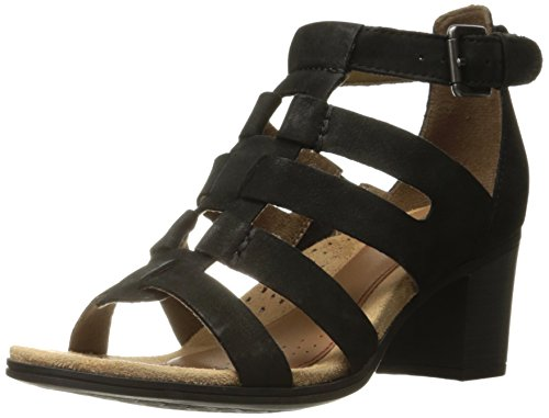 ROCKPORT Women Hattie Gladiator Sandal Black