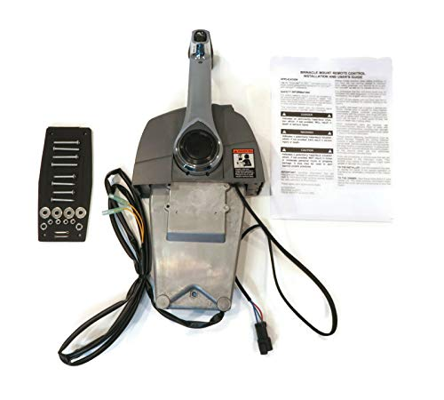 The ROP Shop Remote Throttle Control for Johnson & Evinrude 0176375 & 176375, Binnacle Mount