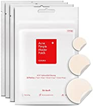 COSRX Acne Pimple Master Patch 96 Patches (4 Packs of 24 Patches) | A.D.F. Hydrocolloid Dressing | Quick &