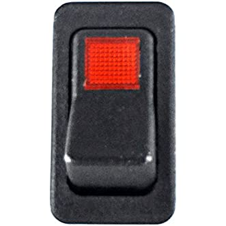 SWITCH, MAIN LIGHTED ROCKER 3-TERMINAL