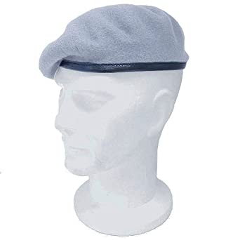 234468e5 Genuine Issue British AAC Light Blue Beret 62cm: Amazon.co.uk: Clothing