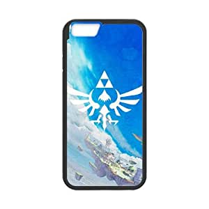 Personality customization TPU Case with The Legend of Zelda iPhone 6 4.7 Inch Cell Phone Case Black