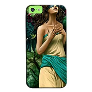 Slim Fit Protector For Iphone 5c Protective Hard Case Black 0fAPbtnH8O