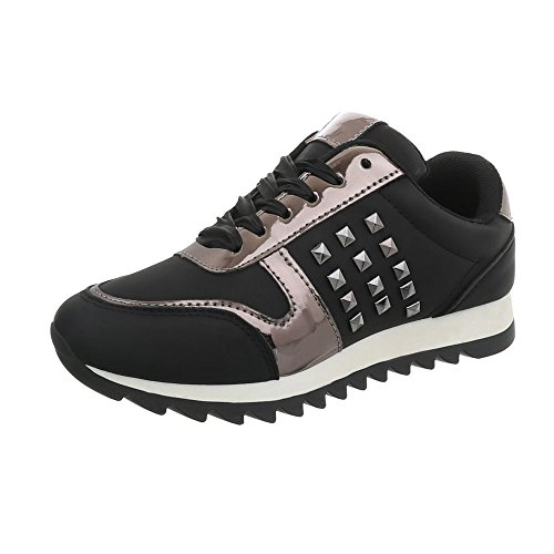 Low Ital Design Baskets Femme Mode Sneakers Chaussures Espadrilles Plat q8qfWrHv