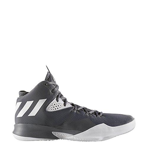 sale retailer 04237 ffae9 ... Zapatillas Adidas Dual Threat 2017 By4179 Hombre Gris ...