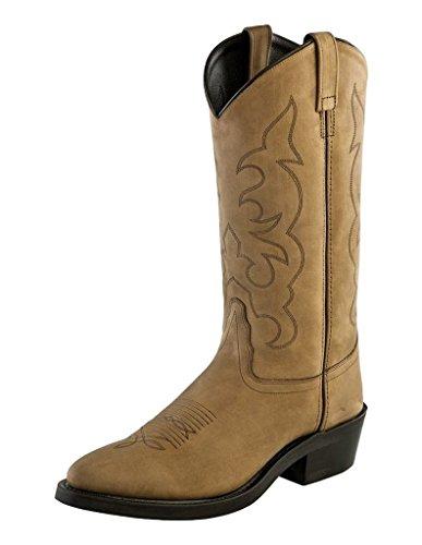 Gamle Vest Boots Menns Tbm3011 Lys Apache