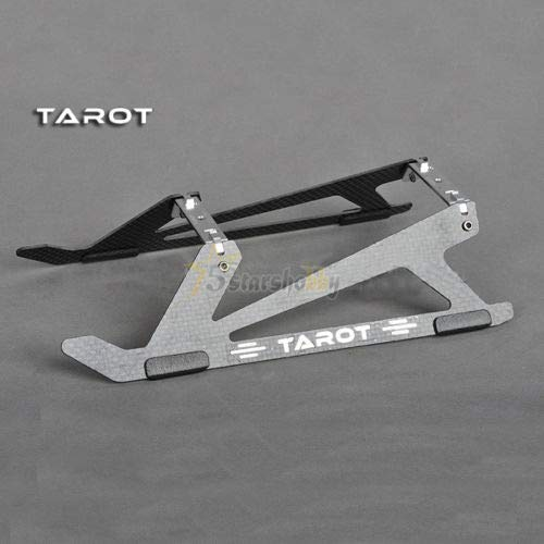 - Yoton Accessories Tarot New Type Carbon Fiber Landing Skid for Trex 450 PRO DFC Helicopter