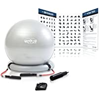 Superior Fitness 600 lb Exercise/Yoga / Stability Ball...