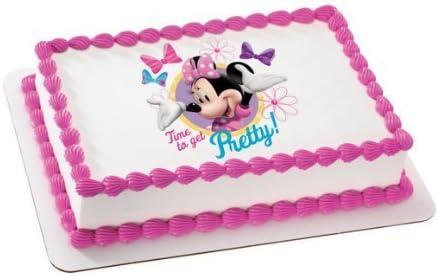 Phenomenal Amazon Com Decopac Minnie Mouse Edible Cake Topper Decoration Funny Birthday Cards Online Necthendildamsfinfo