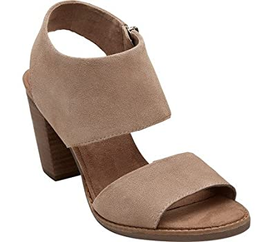 f7cd78cb64fc Image Unavailable. Image not available for. Color  Toms Women s Majorca  Cutout Sandal - Desert Taupe Suede ...