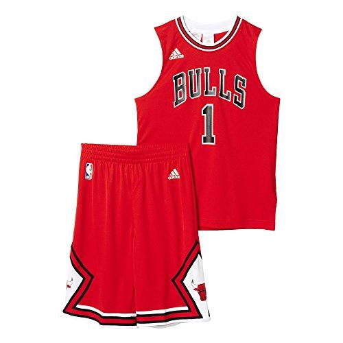 adidas Kinder Trikot Chicago Bulls Kit, rot, 164, AC0552
