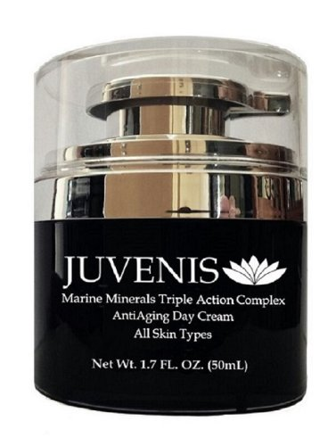 Juvenis Marine Minerals Triple Action Complex Anti Aging Day Cream *96% Natural*