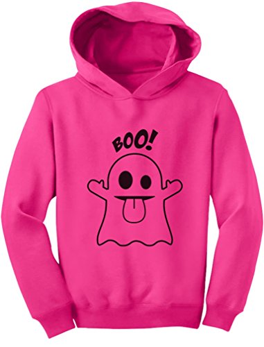 TeeStars - Baby Boo Ghost Costume Cute Easy Halloween Toddler Hoodie 2T (Cute Easy Toddler Halloween Costumes)