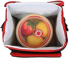 esonmus Bolsa Térmica Comida 10L, Termica Porta Alimentos con ...
