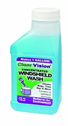 Windshield Wash, Concentrate, 4 Oz., Pk 12