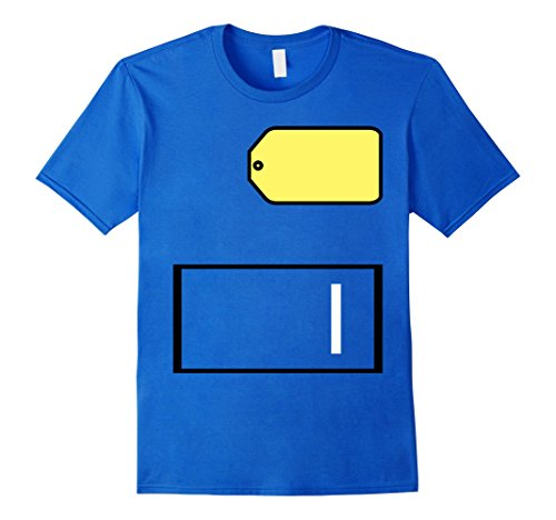 Price Is Right Big Wheel Costume (Mens Game Show Group Halloween Costume T-Shirt Medium Royal Blue)