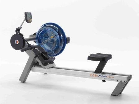 First Degree Rudergerät Fluid Rower E520 mit Unterlegmatte, 8679