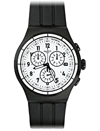 Swatch Men's Chrono Again YOB403 Stainless Steel Wrist Watches