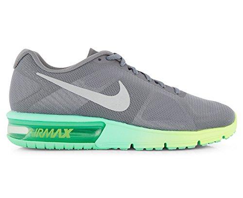 Nike Clair Air Max Sequent Chaussures De Course Clair Nike Gris   Argent 1a1df6