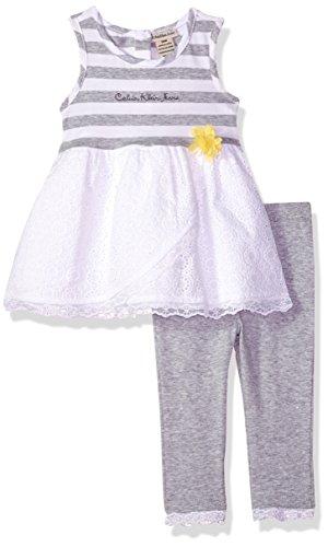 Calvin Klein Jeans Baby Girls 3e00071-99,