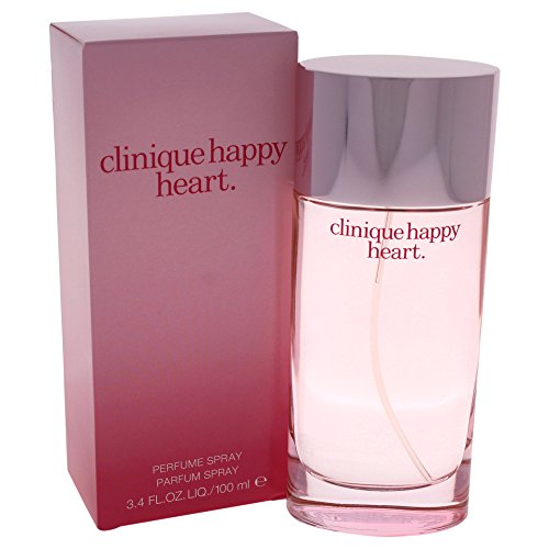 - Clinique Happy Heart Parfum Spray for Women, 3.4 Ounce