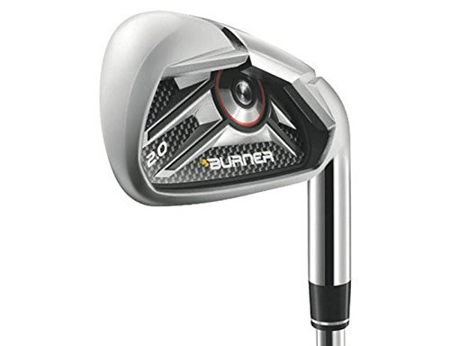 TaylorMade Burner 2.0 HP Iron Set 4-PW GW TM Superfast 65 Graphite Senior Right Handed 38.25 in - Taylormade Burner Senior