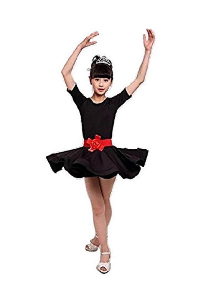 9f3f6951ef9b MATISSA Children s Dance Dress Ballet Latin Rumba Samba Dress Skirts ...