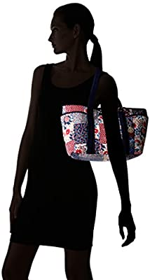 Tommy Hilfiger Th Dariana Patchwork Canvas Tote