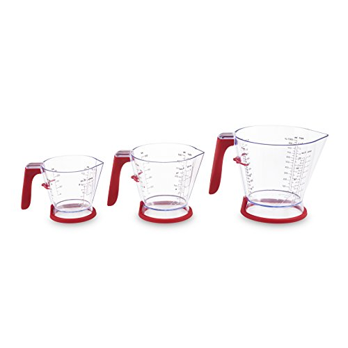 Zyliss Measuring Jug with Lid, Set of 3