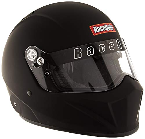 Helmet Small Race (RaceQuip 283996 Flat Black X-Large VESTA15 Full Face Helmet (Snell SA-2015 Rated))