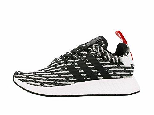 Adidas Originals Heren Nmd_r2 Pk Sneaker Zwart / Wit