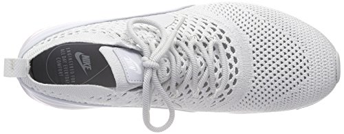 NIKE Pure Platinum Platinum Flyknit Thea Max Grey Ultra Women's Trainers Air Pure white r8qwrA