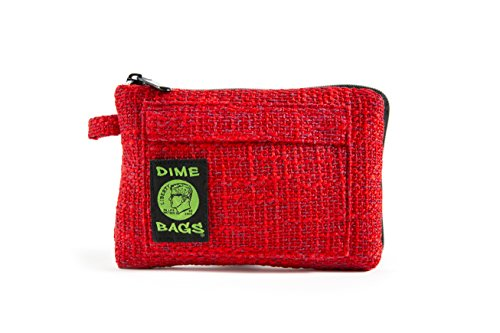 Padded Pouch - Soft Interior with Secure Heavy-Duty Zipper (8-Inch) (Red)