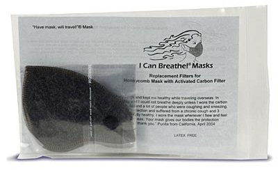 I Can Breathe Mask (Replacement Carbon Filters)