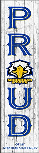 ege Morehead State Eagles COL Proud Color N22 Logo Unframed Poster 6x22 Inches ()