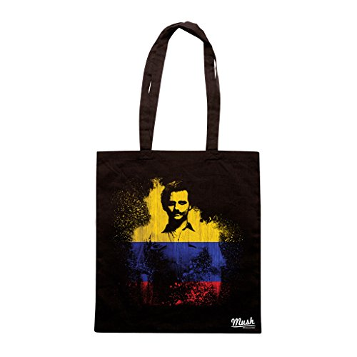 Borsa NARCOS COLOMBIA FLAG - Nera - FILM by Mush Dress Your Style
