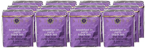 Stash Tea Breakfast In Paris Black Tea 10 Count Tea Bags in Foil (Pack of 12) (Packaging May Vary) Individual Black Tea Bags for Use in Teapots Mugs or Cups, Brew Hot Tea or Iced Tea by Stash Tea (Image #1)